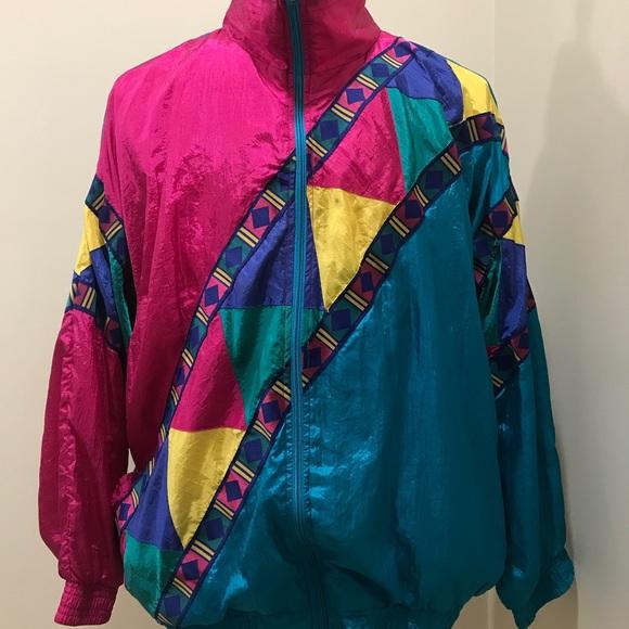 615cd13ea9c9 J.S. Authentics Jackets   Blazers - Vintage J.S. Authentics Windbreaker  Size 2X